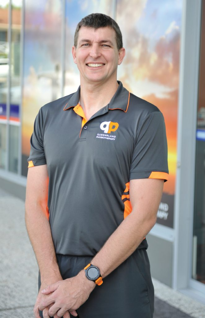 Ian Alberts, Director of Queensland Physiotherapy